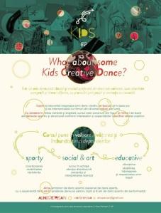 Programul Kids creative dance